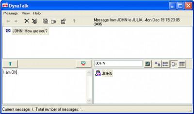 DynaTalk 2.5 screenshot