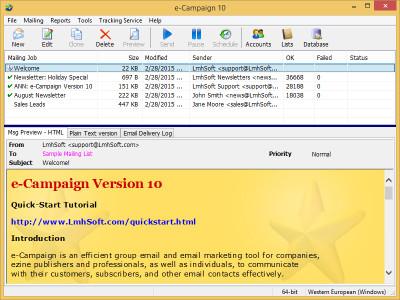 e-Campaign 12 screenshot