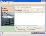 e-Mail POP3Tool 2.1 screenshot