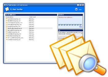 E-mail Verifier 2.13 screenshot