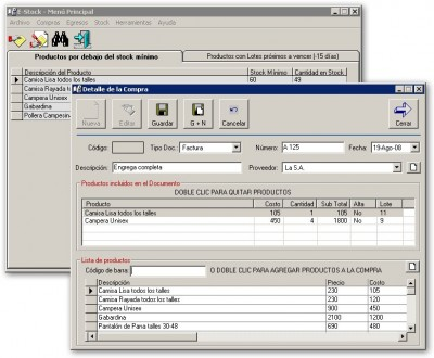 E-Stock 3.4.3 screenshot