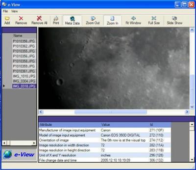 e-View 1.0 screenshot
