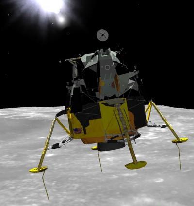 Eagle Lander 3D 2.1.2 screenshot