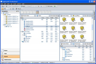 EagleEyeOS Professional 3.1.0 screenshot