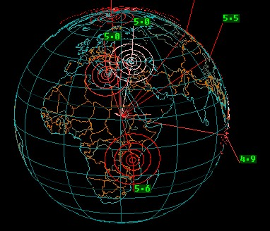 Earthquake 3D 2.9 screenshot