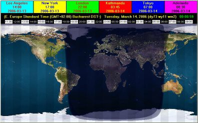 EarthSunX 3.10 screenshot