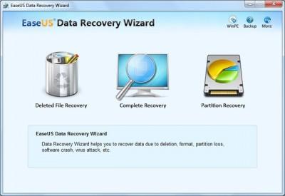 EaseUS Data Recovery Wizard Pro 11.0 screenshot