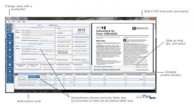 EASITax 1099 / W2 Tax Software 1.2019.1.0 screenshot
