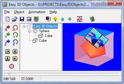 Easy 3D Objects 2.3 screenshot
