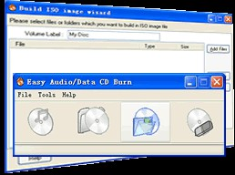 Easy Audio/Data CD/DVD Burner 1.3.7.7 screenshot