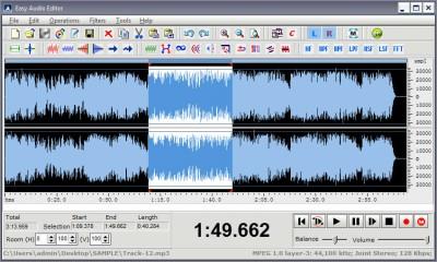 Easy Audio Editor 8.3.4 screenshot