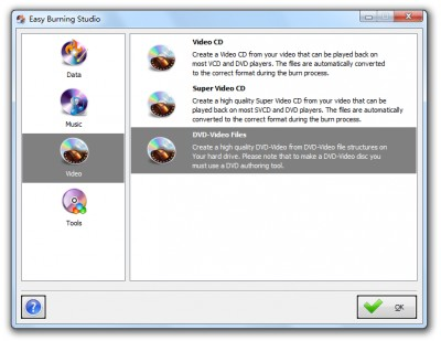 Easy Burning Studio 10.4.2 screenshot