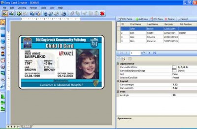 Easy Card Creator Professional 15.25.78 screenshot