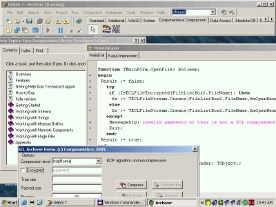 Easy Compression Library 5.30 screenshot
