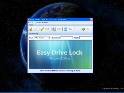 Easy Drive Lock 4.2 screenshot