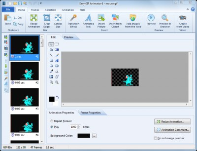 Easy GIF Animator 6.2 screenshot
