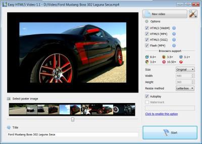 Easy Html5 Video 1.1 screenshot