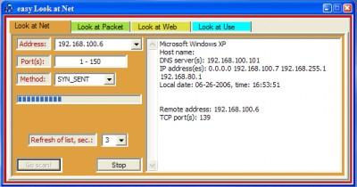 easy Look at Net 0.8.9 screenshot