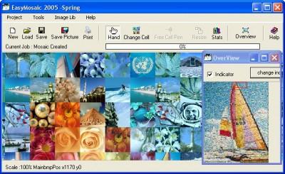 Easy Mosaic 2005 Home Edition 1.0 screenshot