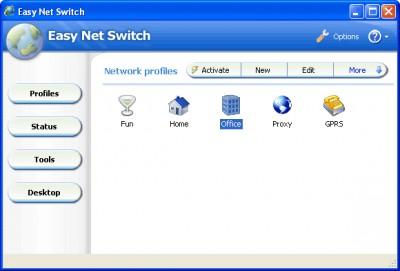 Easy Net Switch 6.7.0 screenshot