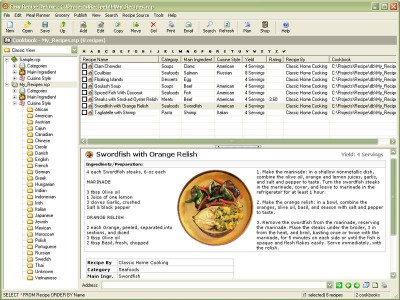 Easy Recipe Deluxe 1.6.265 screenshot