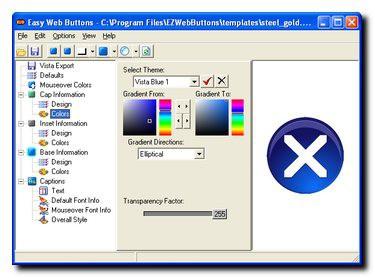 Easy Web Buttons 3.2 screenshot