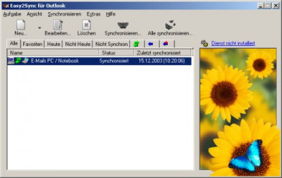 Easy2Sync for Outlook 9.16 screenshot