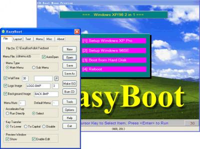 EasyBoot 6.6.0.800 screenshot
