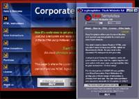 Easytemplates Flash Website Templates 1.41 screenshot