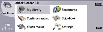 eBook Reader for Nokia 9500 (9300) 2.1 screenshot