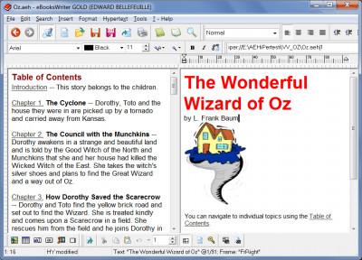 eBooksWriter LITE 2016.33 screenshot