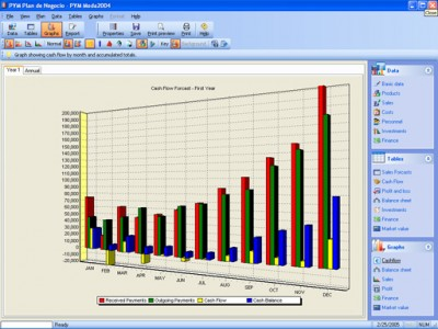EBP Business Plan Designer 3.0 screenshot