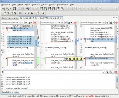 ECMerge Pro (Linux) 2.5 screenshot