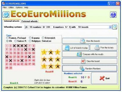 EcoEuroMillions 1.32 screenshot