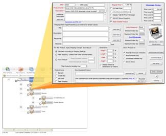 Ecommerce Shopping Cart Software Fortune 6.3 screenshot