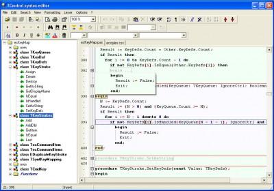 EControl Syntax Editor SDK 3.00 screenshot