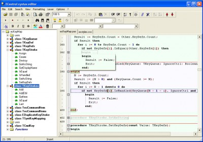 EControl Syntax Editor 3.00 screenshot