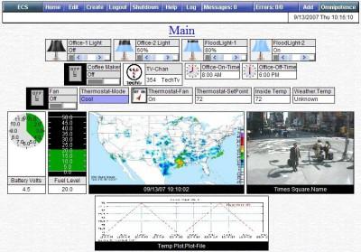 ECS (Event Control System) 10.2 screenshot