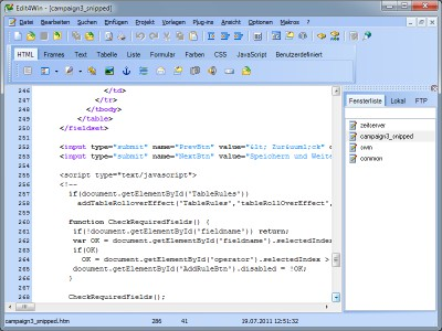 Edit4Win 3.32 screenshot