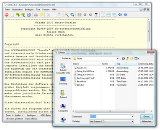 EditEx 9.0 screenshot