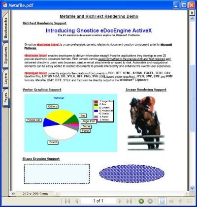 eDocEngine ActiveX/.NET 2.50 screenshot