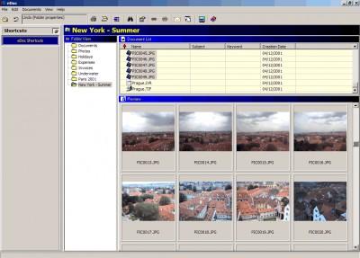 eDocPlus document management software 3.01 screenshot