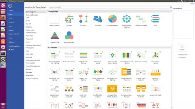Edraw Max for Linux 9.4 screenshot
