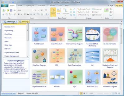 Edraw Max 9.4.1 screenshot