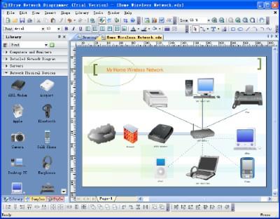 Edraw Network Diagram 8 screenshot