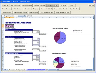 Edraw Office Viewer Component 8.0.0.733 screenshot