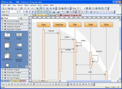 Edraw UML Diagram 8 screenshot