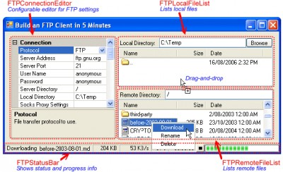 edtFTPnet/PRO 9.1.1 screenshot