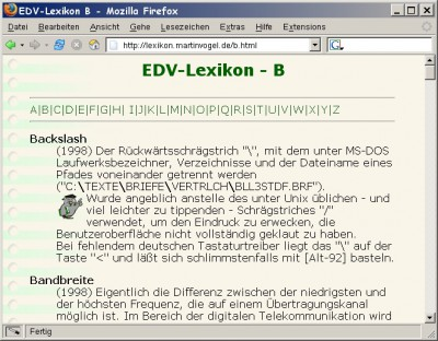 EDV-Lexikon 2006-02-27 screenshot