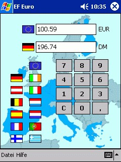 EF Euro 1.00 screenshot